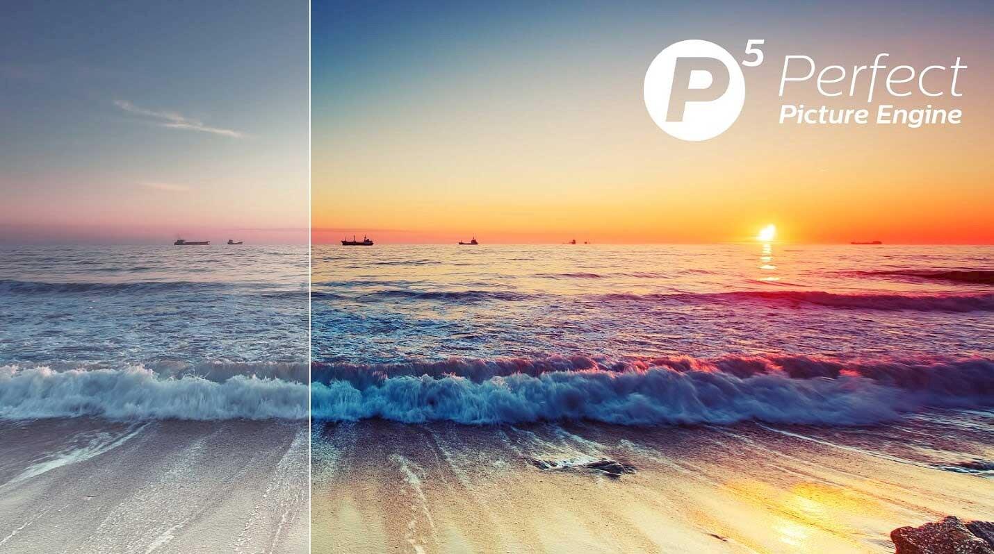 Philips P5-prosessoren gir deg et perfekt bilde i 4K.