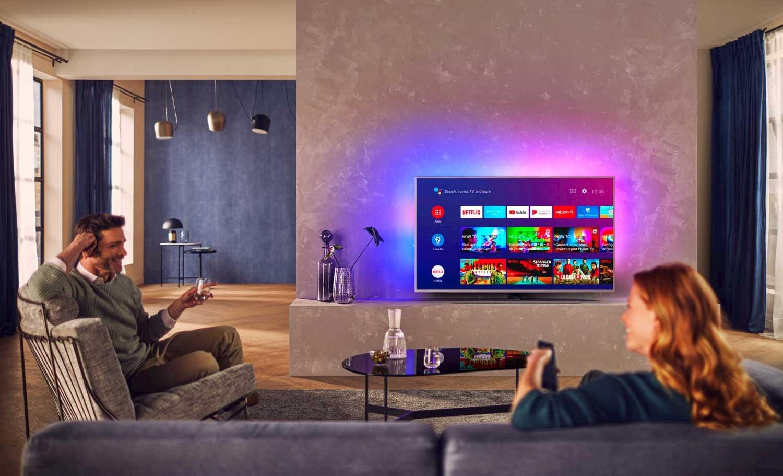 Android-TV lar deg tilpasse en rekke innstillinger.