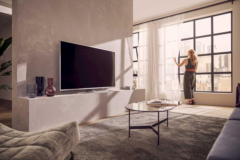 TV-en har 4K HDR i høy kvalitet.