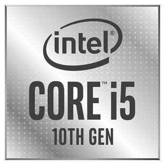10. gen. Intel Core i5 gir PC-en rask ytelse og fire kjerner.