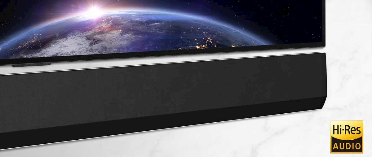 LG GX har en total uteffekt på hele 420 watt.