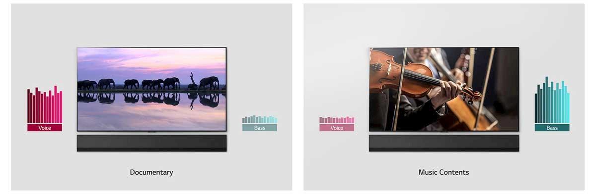 Integrerte LG ThinQ lar lydplanken din bli et kontrollsenter for smartenheter.