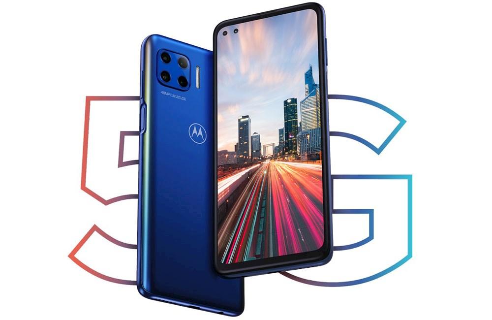 Kraftfull 5G-smartphone med 6,7-tumsskärm