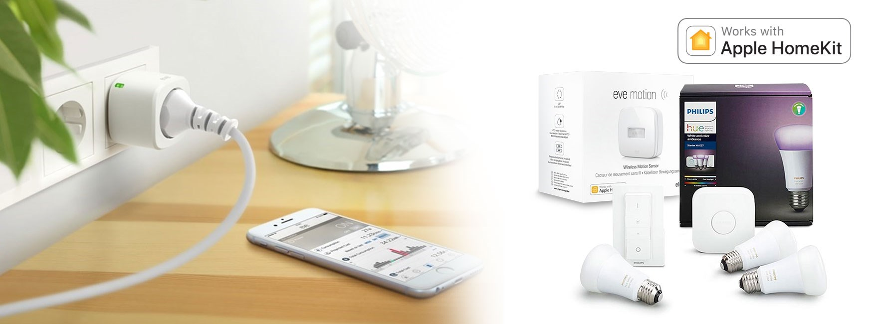 Styr ditt hem med din iPhone, iPad eller Apple Watch