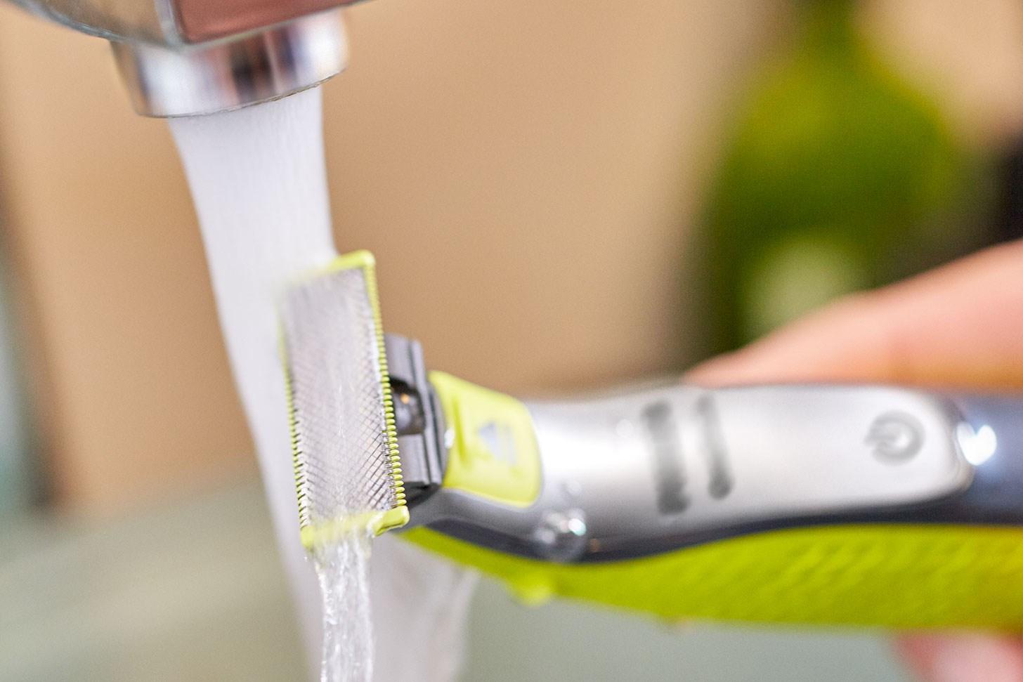 Philips OneBlade - för våt och torr användning