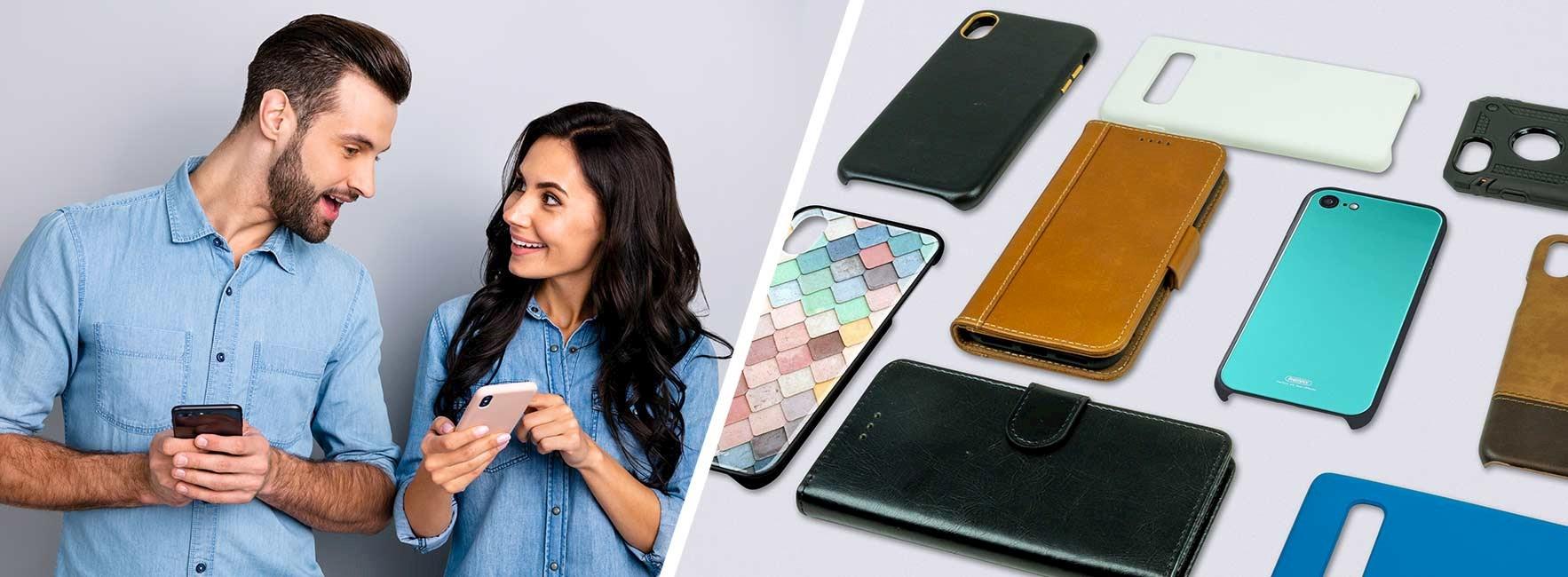 Vilken mobilskal eller plånboksfodral passar din stil?