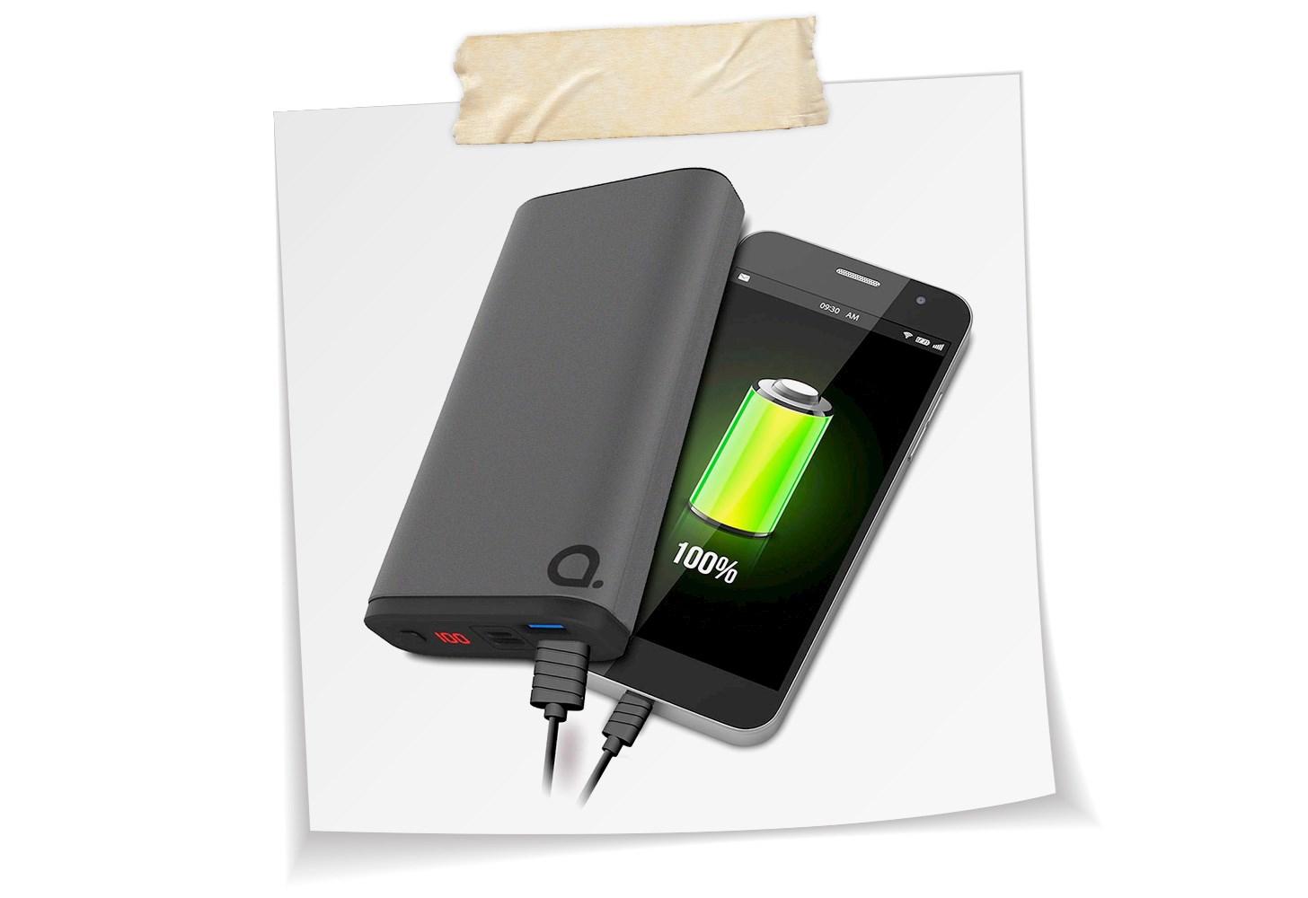 Powerbanks att ladda till mobil med