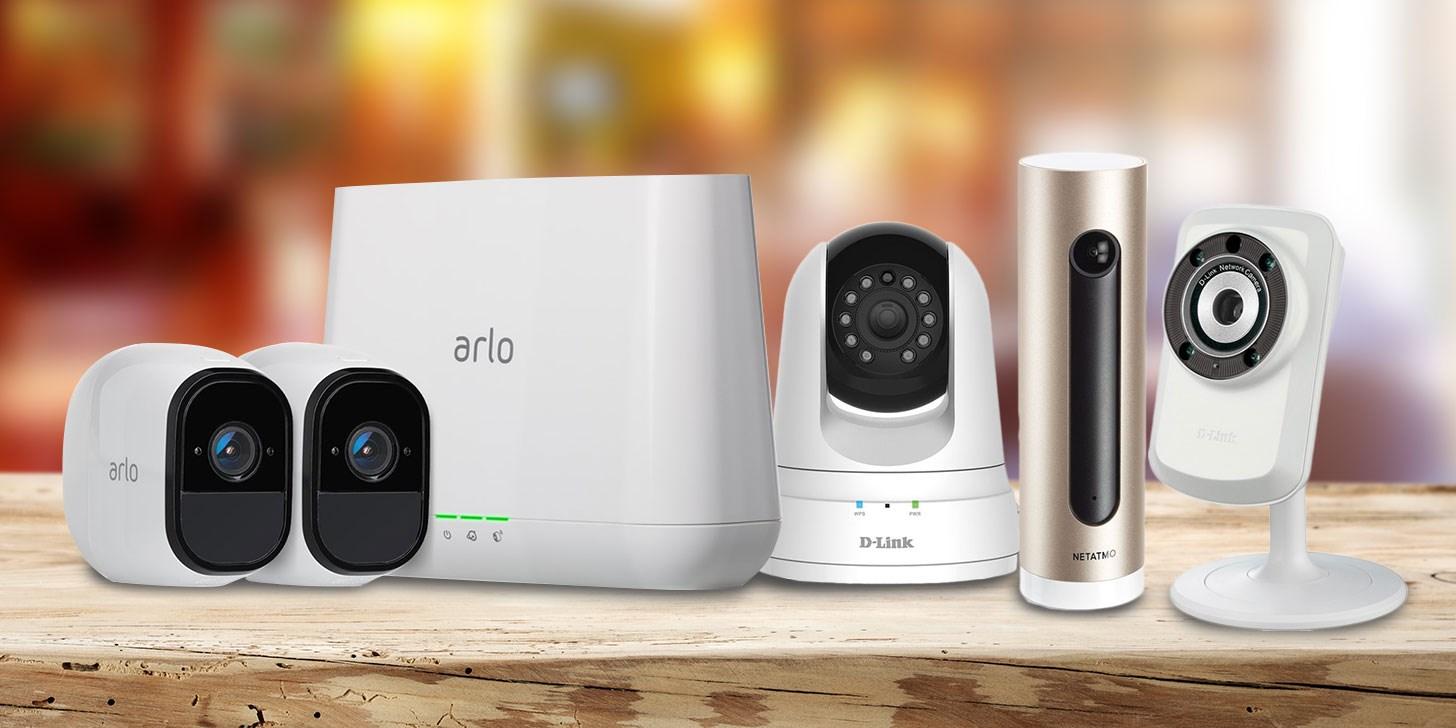 Kameror för inspelning och övervakning av hem och tillgångar