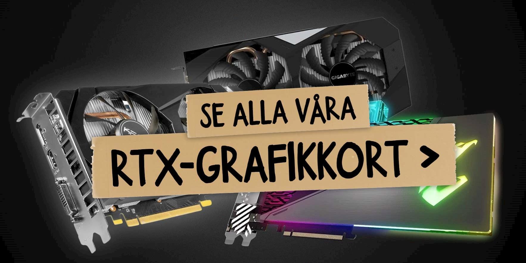 GeForce RTX grafikkort