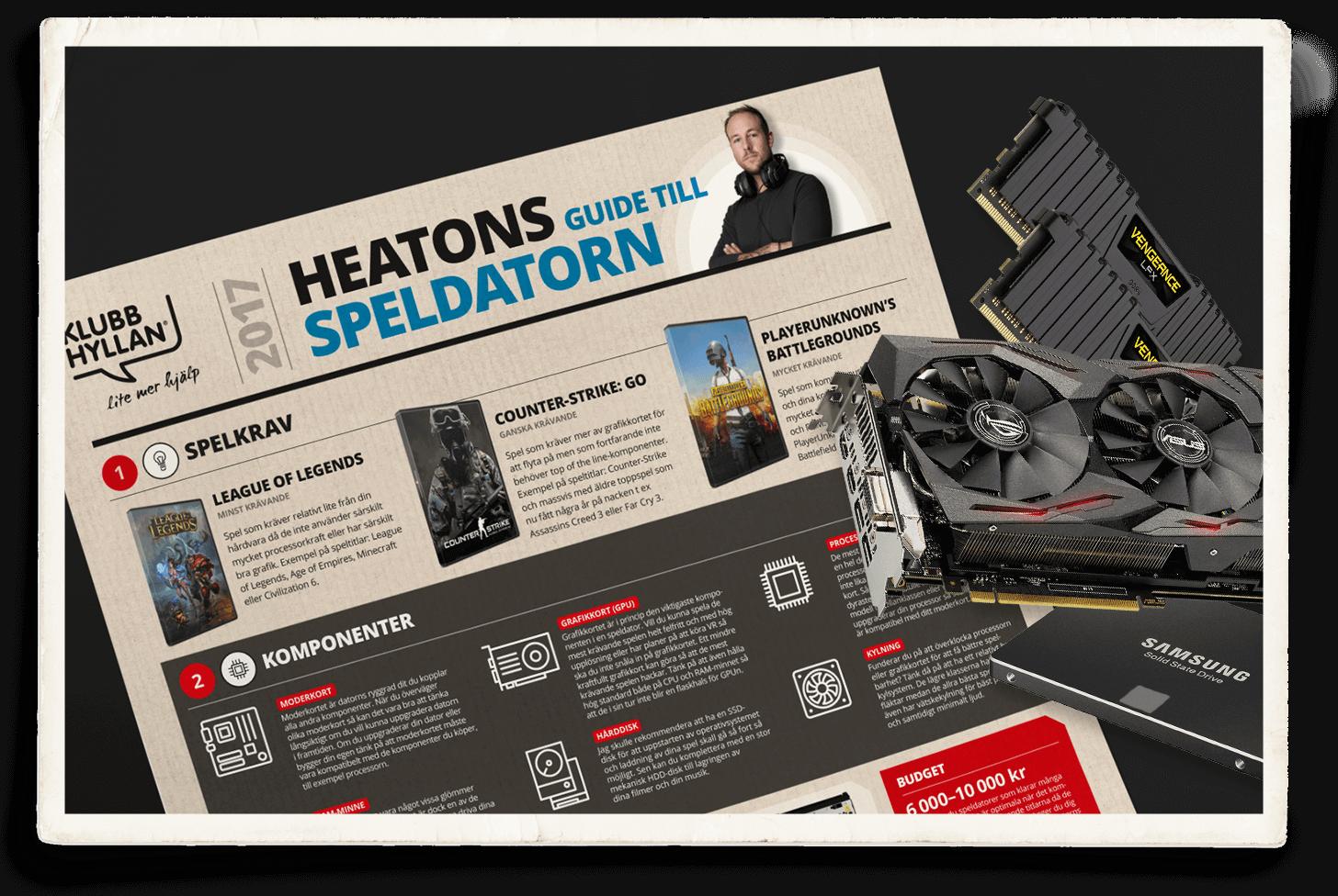 HeatoNs kompletta guide till speldatorn