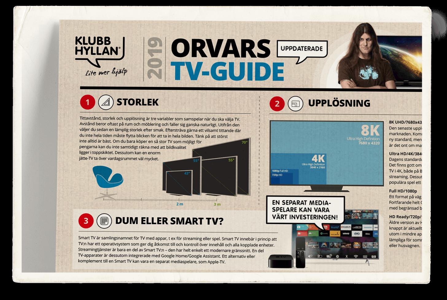 Orvars stora köpguide för TV-apparater