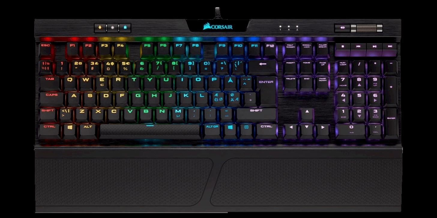 Corsair Gaming K70 RBG MK.2 Low Profile RapidFire