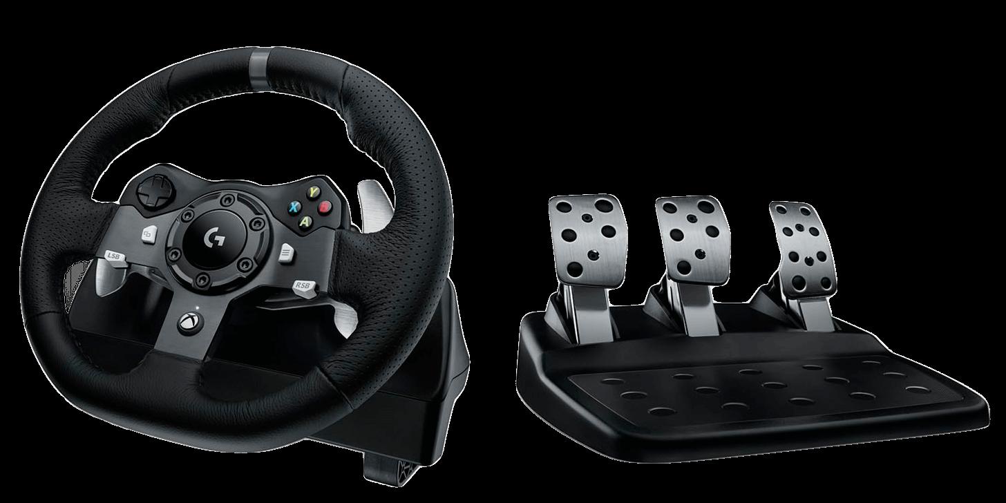 Logitech G920 Driving Force Racing Wheel (PC/Xbox One)