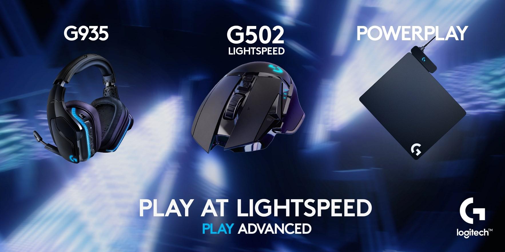 Logitech - Play at Lightspeed