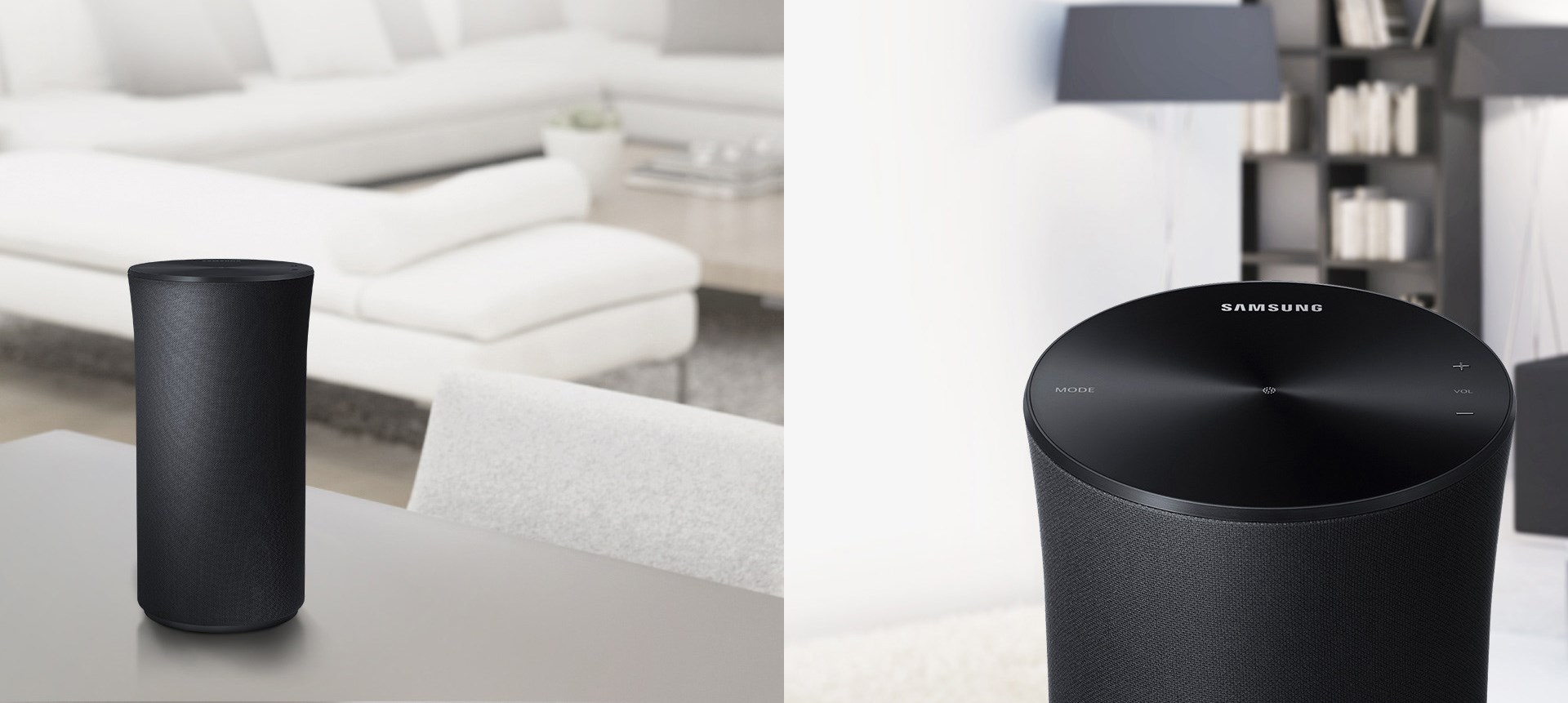 Du kan också göra högtalaren en del av något större genom att ansluta den  till andra Samsung Multiroom-enheter som du har hemma. Du styr högtalaren  enkelt ... 772845ce745e7