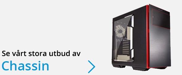 Se vårt stora utbud av datorchassin