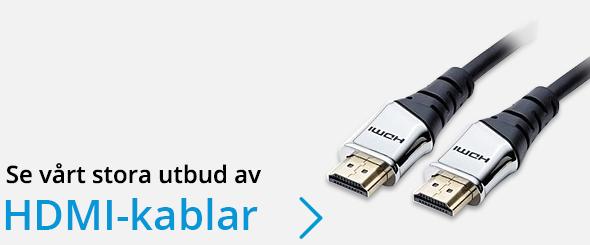 Se vårt stora utbud av HDMI-kablar