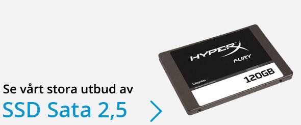 Se vårt stora utbud av 2,5-tums SSD Sata-hårddiskar